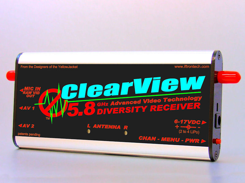 ClearView Pro 5.8 Receiver